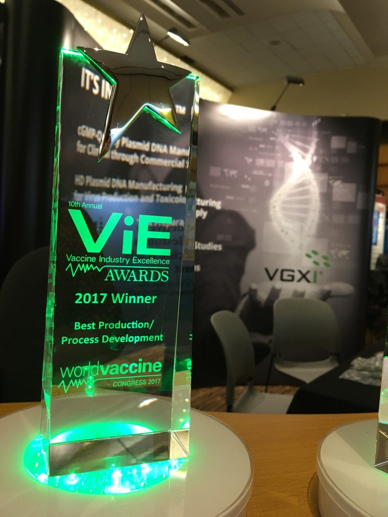 VGXI 2017 ViE Award